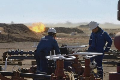 Algeria: First shale gas well in the center of the Sahara